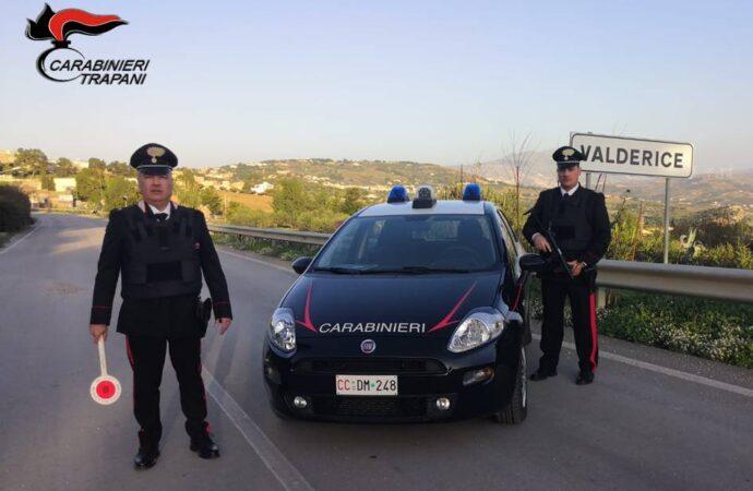 Un trapanese arrestato dai carabinieri di Valderice