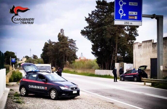 Controlli dei carabinieri, 5 denunciati tra Mazara e Campobello