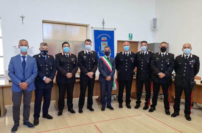 Consegnati gli Encomi a 4 Carabinieri delle Stazioni di Petrosino e Marsala