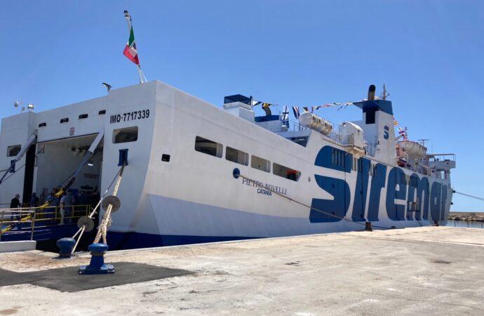 Trapani/Mazara per Pantelleria, un solo traghetto per due tratte