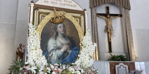 VIDEO – Mazara, l'Effige della Madonna del Paradiso accompagnata a Santa Gemma