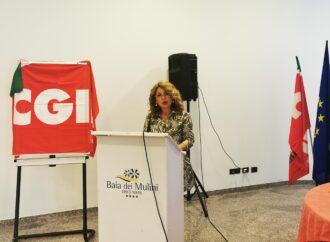 Liria Canzoneri è la nuova segretaria generale della Cgil di Trapani
