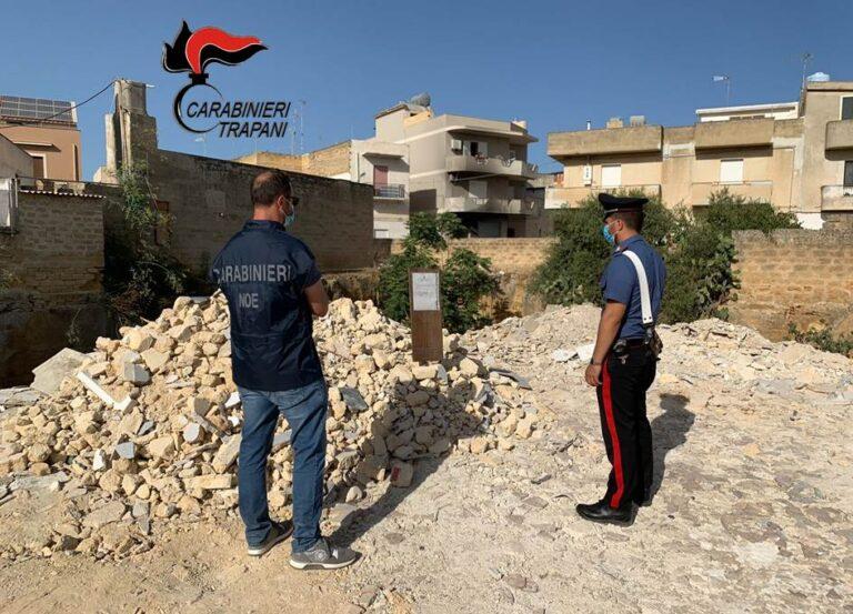 Smaltimento illegale di rifiuti tra Mazara e Marsala, i carabinieri denunciano due persone