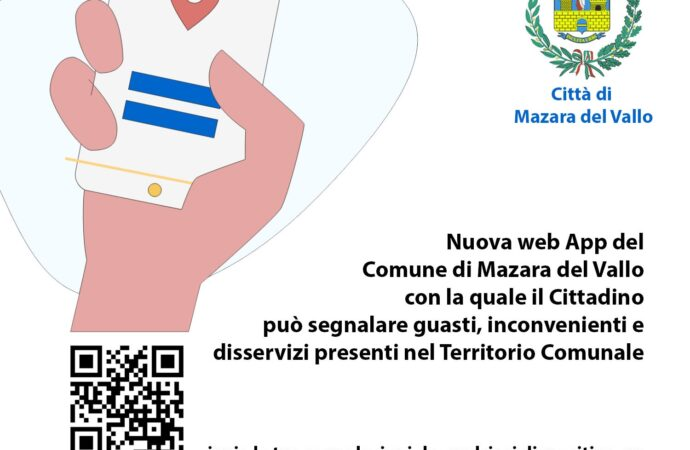 Attivato dal Comune il portale segnalazionimazara.it