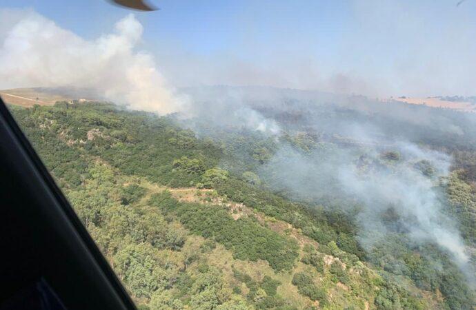 Incendi, interventi dell'82*centro Csar a Buseto Palizzolo e Alcamo