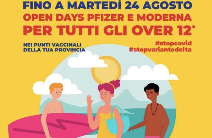 """Vaccini, in Sicilia gli """"open days"""" proseguono fino al 24 agosto"""