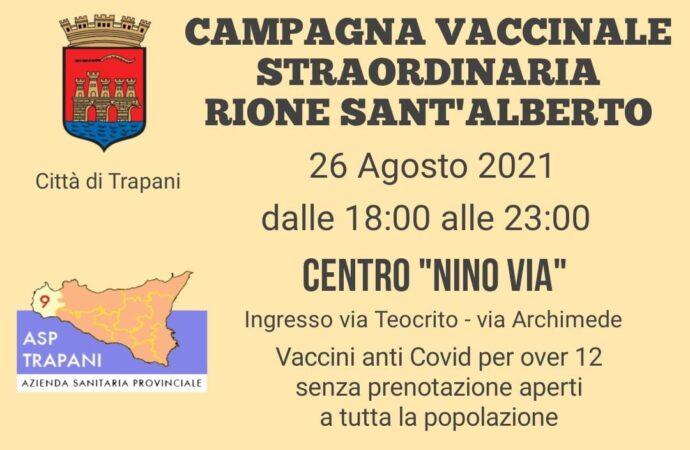 """Trapani, Giovedì 26 Agosto vaccini anti Covid al Centro """"Nino Via"""""""