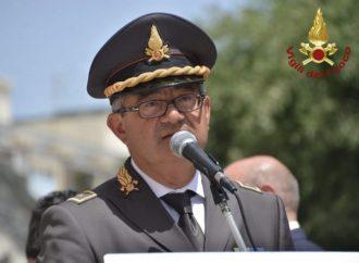 Trapani, messaggio di saluto del Comandante uscente dei vigili del Fuoco