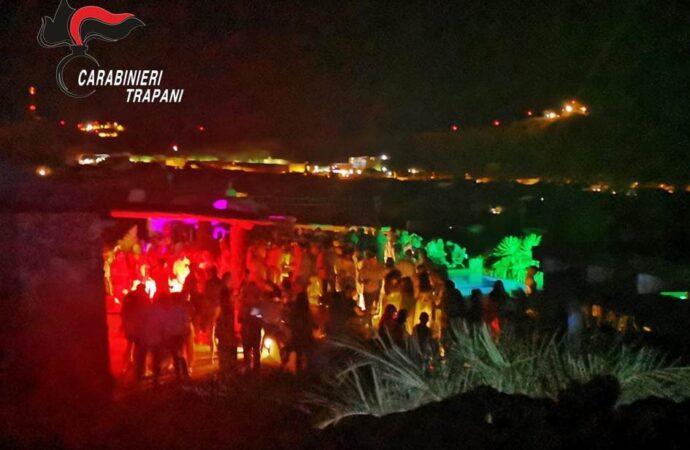 Scoperta festa abusiva a a Pantelleria, i carabinieri denunciano l'organizzatore