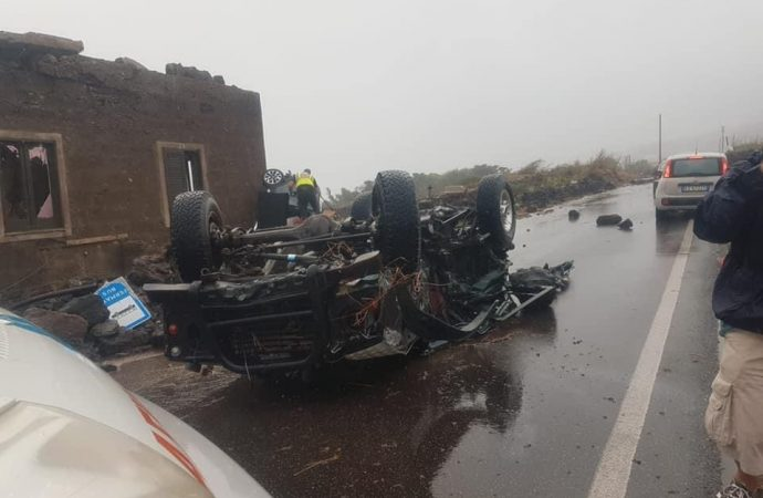 Tromba d'aria a Pantelleria, due morti e alcuni feriti