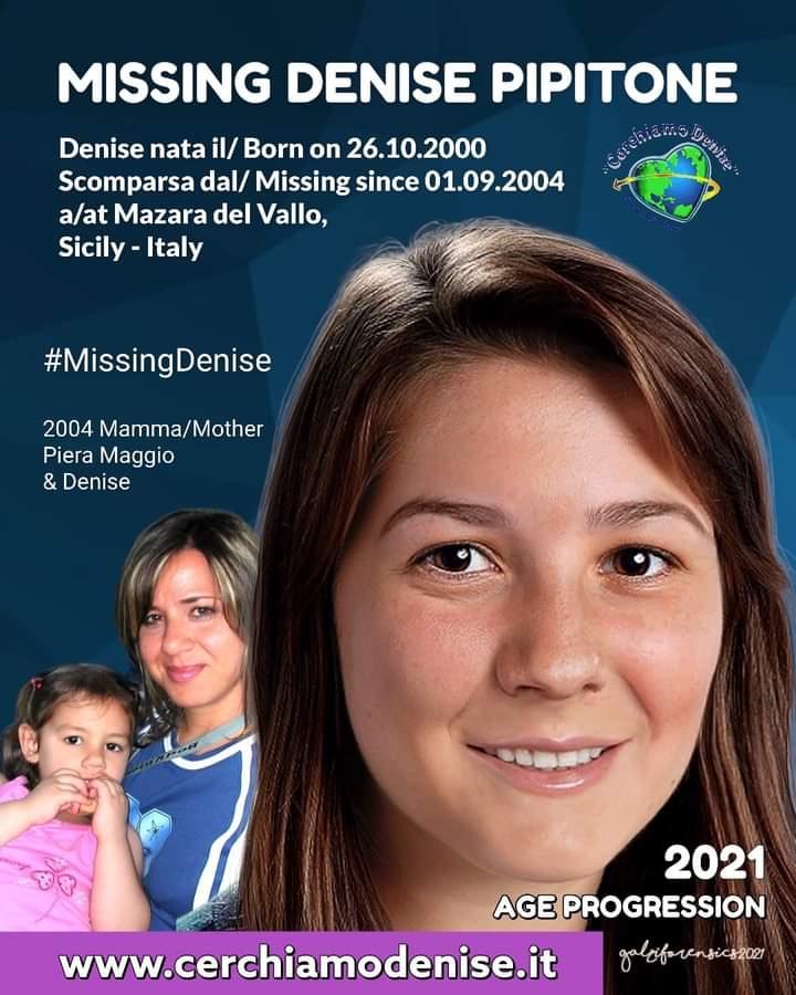 """Denise Pipitone, ecco il suo """"nuovo"""" volto"""