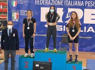 Pesi, la mazarese Manuela Lombardo sul podio alla fase finale della Coppa Italia regionale