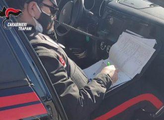 Controlli dei carabinieri a Mazara, 8 persone denunciate
