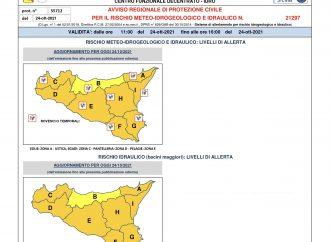 Allerta Meteo Arancione, Nuovo Avviso di rischio meteo idrogeologico-idraulico per le prossime 24 ore