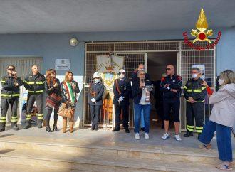 Erice, intitolazione della palestra del quartiere San Giuliano alla memoria del vigile del fuoco Giorgio Grammatico
