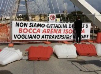 VIDEO – Ponte chiuso, manifestazione questa mattina in contrada Bocca Arena a Mazara